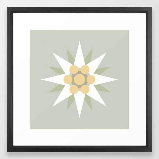 Edelweiss Framed Art Print by Majoih Art - Society6