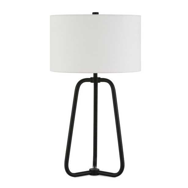 "Eric 26"" Table Lamp - Blackened Bronze Base - Wayfair"