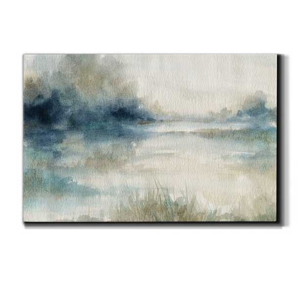 Still Evening Waters II - Wrapped Canvas Painting Print - Wayfair
