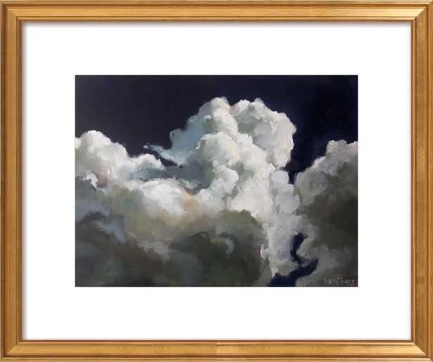 Puffy clouds - Artfully Walls
