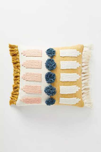 Textured Luciana Pillow - Anthropologie