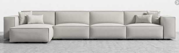 Porter Extended Sectional - left hand Alesund - Rove Concepts