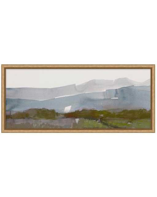 ABSTRACT LANDSCAPE 2 Framed Art - Small - McGee & Co.
