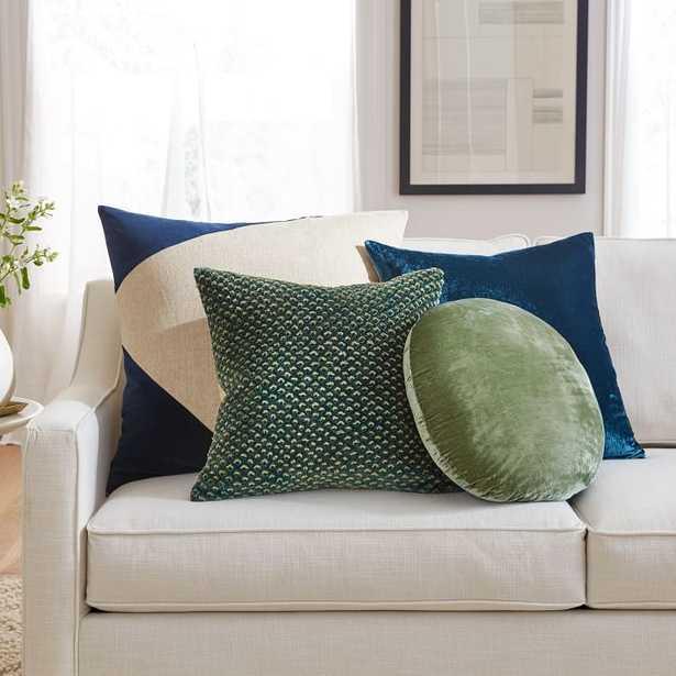 Color Crush Pillow Cover Set - Blue/Green - West Elm