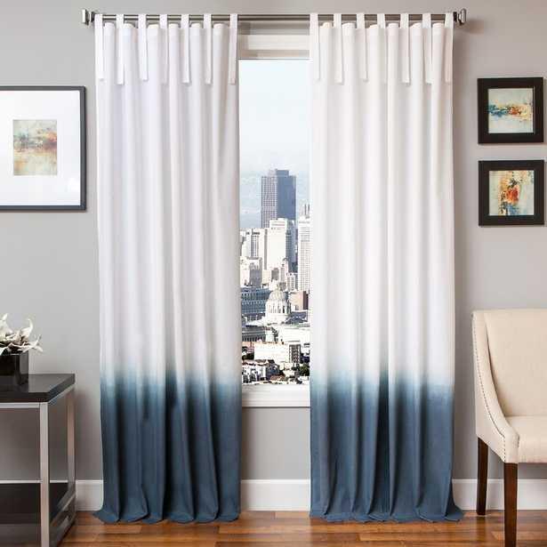 Winkleman Ombre Solid Semi-Sheer Tab Top Single Curtain Panel - Wayfair