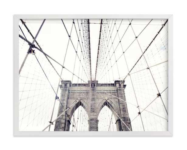 a classic - 24x18 - white frame - standard - standard - Minted