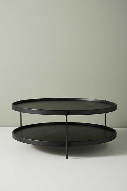Noir Tiered Coffee Table - Anthropologie