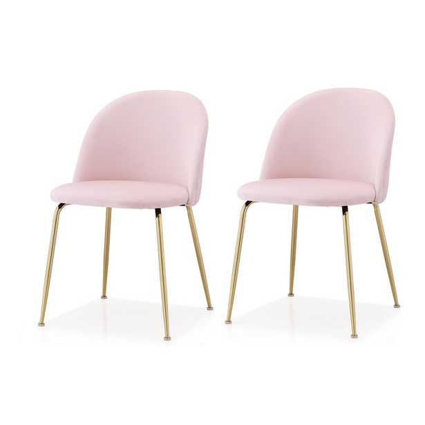 Upholstered Dining Chair, set of 2 - Wayfair
