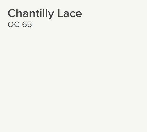 Ben® Waterborne Interior Paint - Eggshell Gallon Chantilly Lace 2121-70 - Benjamin Moore