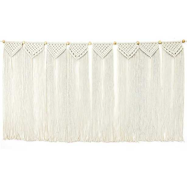 Cotton Macrame Wall Hanging - Wayfair