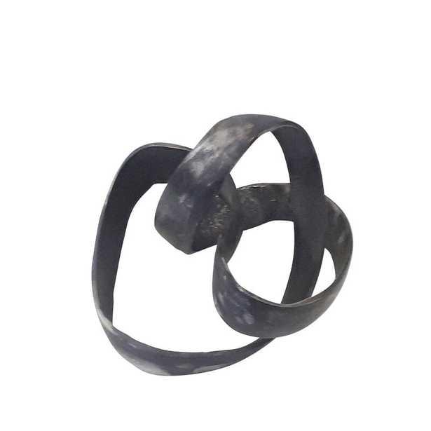 Verity Aluminum Knot Sculpture - Wayfair