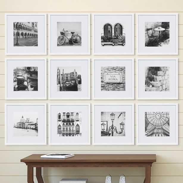 Noland 12 Piece Matted Picture Frame Set - white - Wayfair