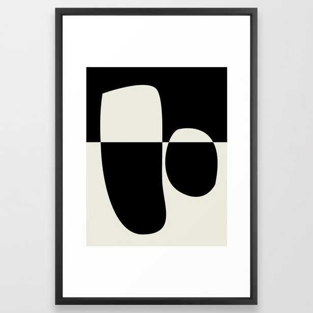 // Reverse 02 Framed Art Print - Society6