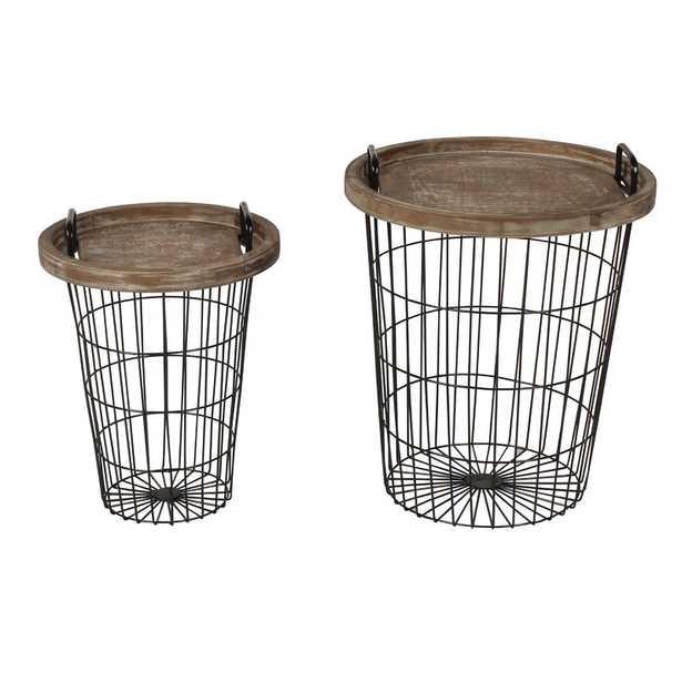 Janay 2 Piece Nesting Table - Wayfair