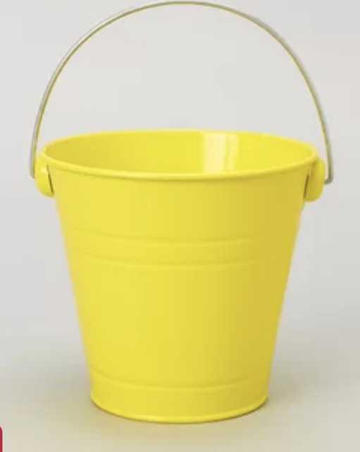 Metal Bucket Set (Set of 6) - Wayfair