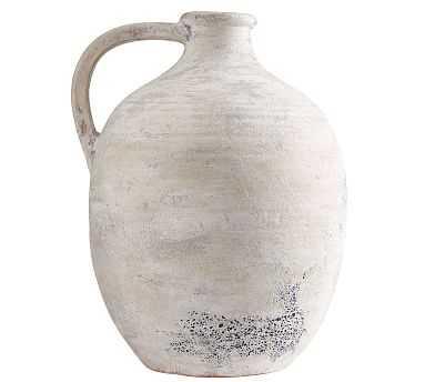 Artisan Vase, White, XL Jug - Pottery Barn