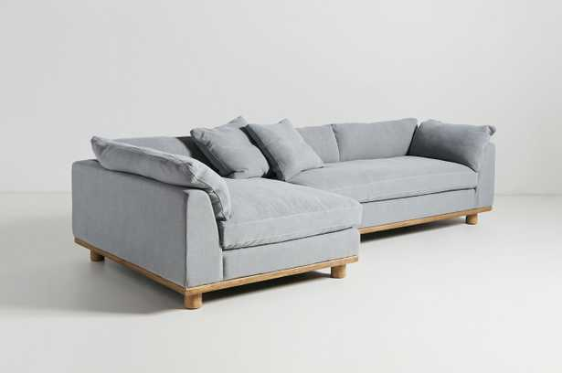 Relaxed Saguaro Sectional By Anthropologie - Nimbus Valecia Linen - Anthropologie