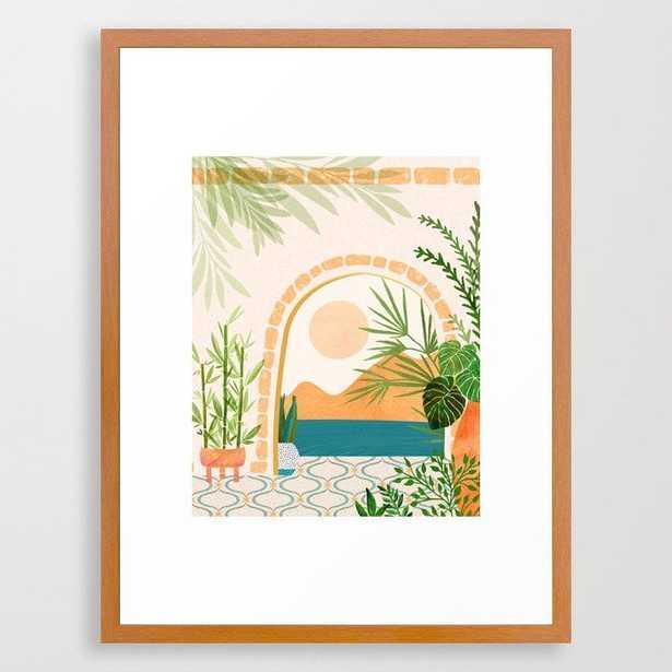 Baja California Villa Framed Art Print - Society6
