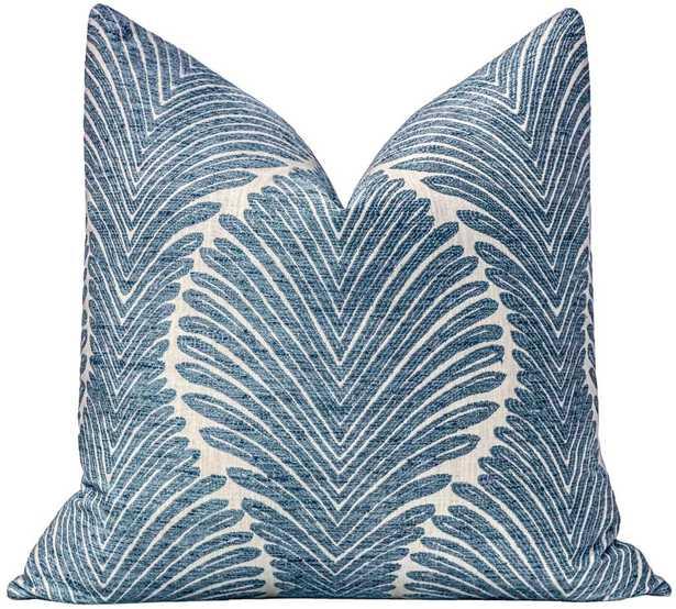 Musgrove Chenille // Sapphire BACKORDER - Little Design Company