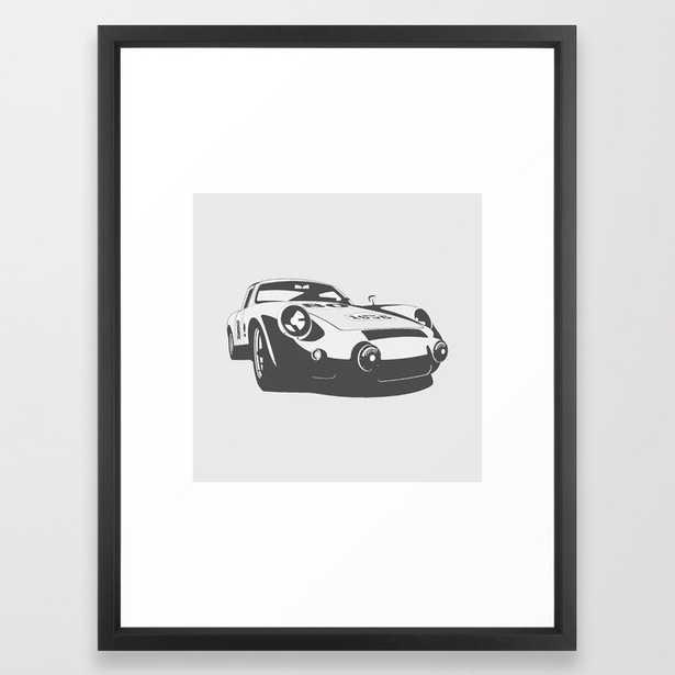 Porsche 356 Framed Art Print - Society6