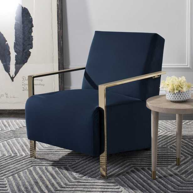 ORNA ACCENT CHAIR - Navy - Arlo Home