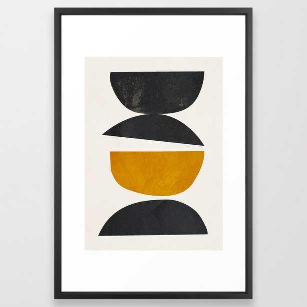 abstract minimal 23 Framed Art Print by ThingDesign - Society6