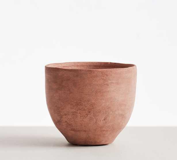 Terra Cotta Vases, Small Cachepot, Terra Cotta - Pottery Barn
