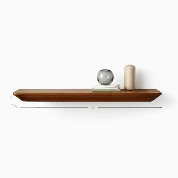 Slim Floating Collection Acorn 3' Shelf - West Elm