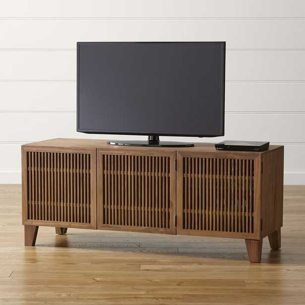 """Marin Natural 58"""" Media Console - Crate and Barrel"""