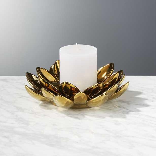 Lotus Flower Candle Holder - CB2