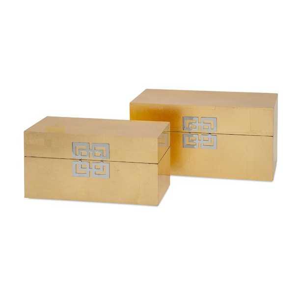 Alonso 2 Piece Decorative Box Set - Wayfair