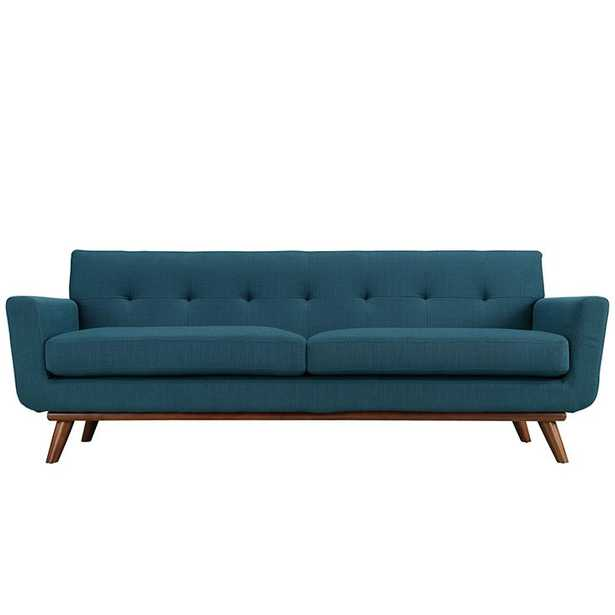 ENGAGE UPHOLSTERED SOFA IN AZURE - Modway Furniture