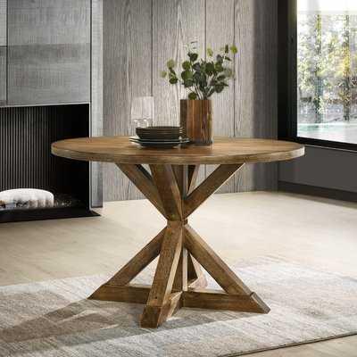 Leonila Cross-Buck Base Dining Table - Wayfair