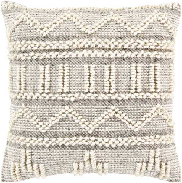 """Cazadero Pillow Cover- 18"""" x 18"""" - Cove Goods"""