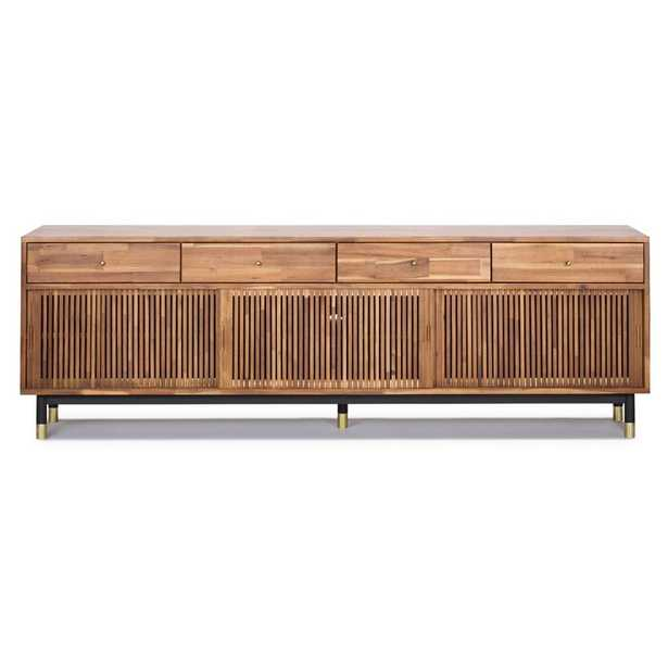 Scotty Solid Wood TV Stand for TVs up to 88 inches - AllModern