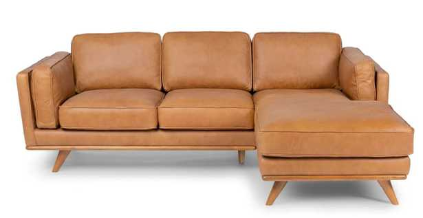 TIMBER right sectional - charme tan - Article