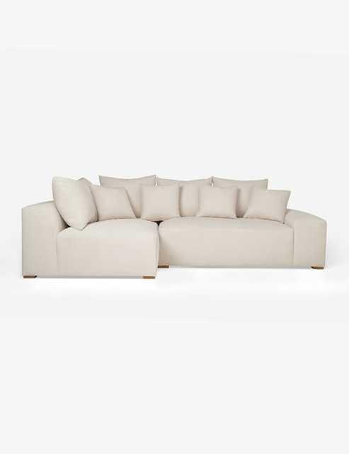 Clayton Left-Facing Sectional Sofa - Lulu and Georgia