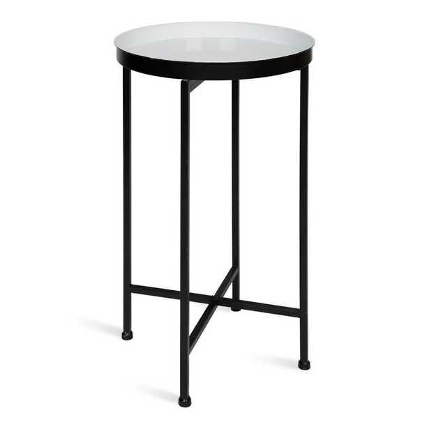 Kriebel Foldable Tray End Table - Wayfair