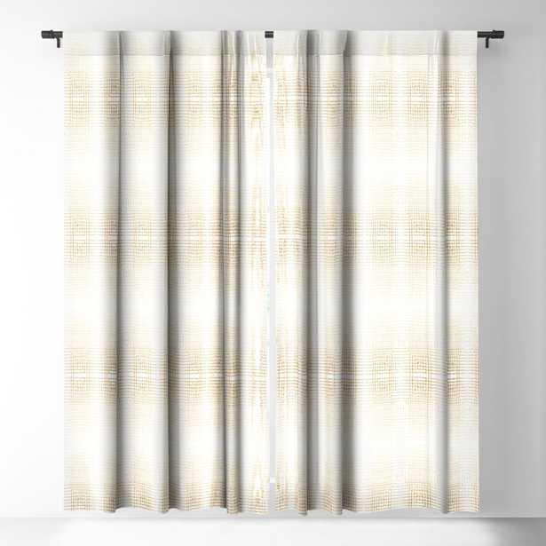 "DECO GOLD Blackout Window Curtain, pair - 96"" - Wander Print Co."