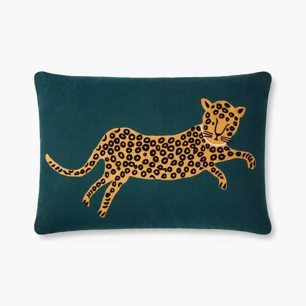 P6055 RP Teal / Gold Pillow - Loma Essentials