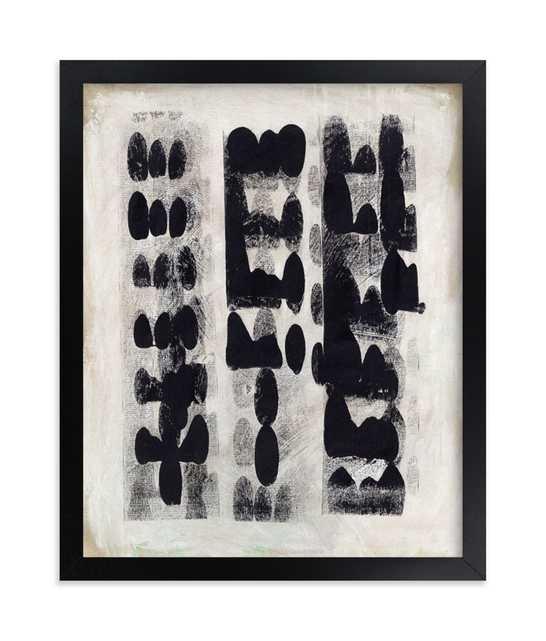 Domino Effect, 8x10, Black Wood Frame - Minted