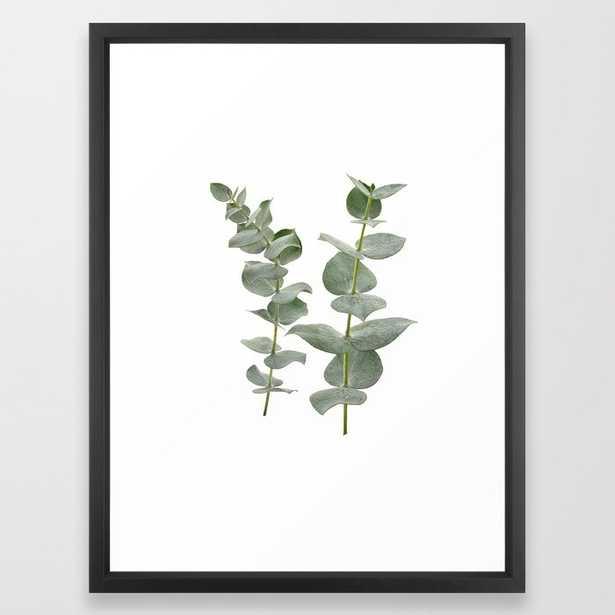 "Eucalyptus Branches II Framed Art Print 20"" x 26"" - Society6"