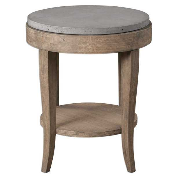 Deka Round Accent Table - Hudsonhill Foundry