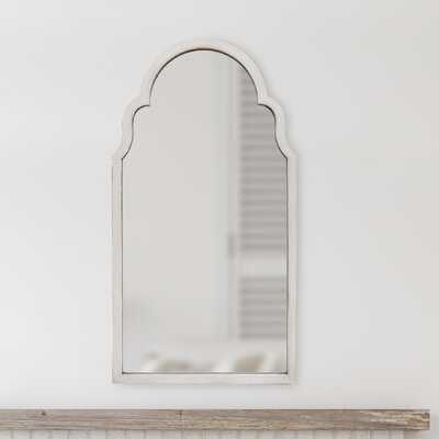 Elisha Hand Painted Arch Accent Mirror - Wayfair