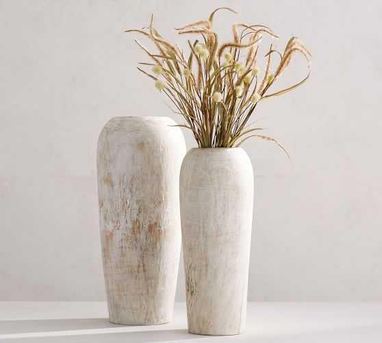 Wooden Vase, Large - Pottery Barn