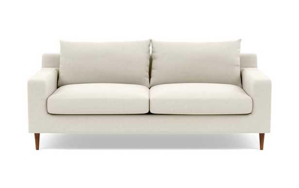 "SLOAN Fabric Sofa - 91"" - Chalk - Interior Define"