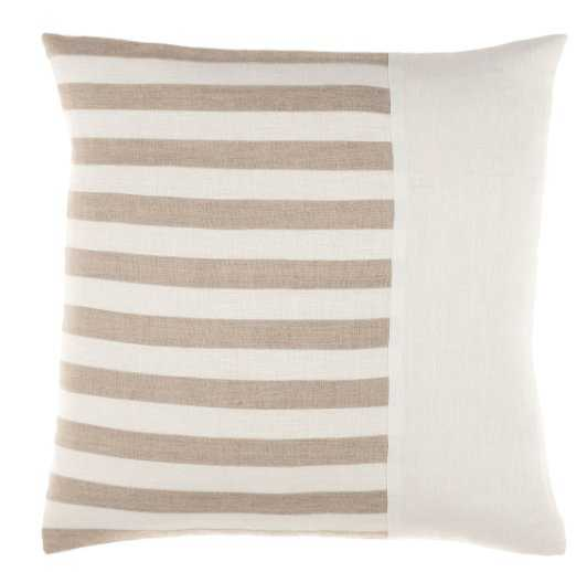 """Roxbury - RXB-002 - 20""""H x 20""""W - pillow cover and poly insert - Neva Home"""