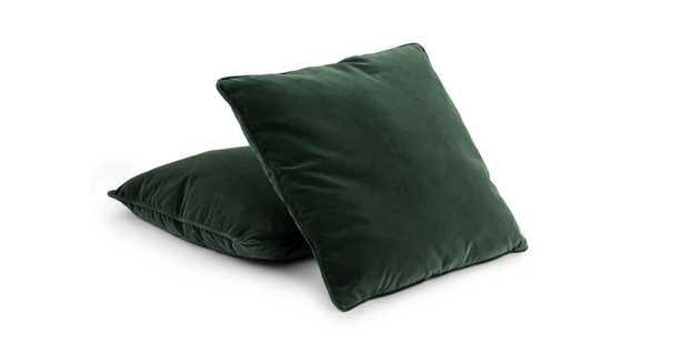 "Lucca Pillow, 20"" x 20"", Balsam Green, Set of 2 - Article"