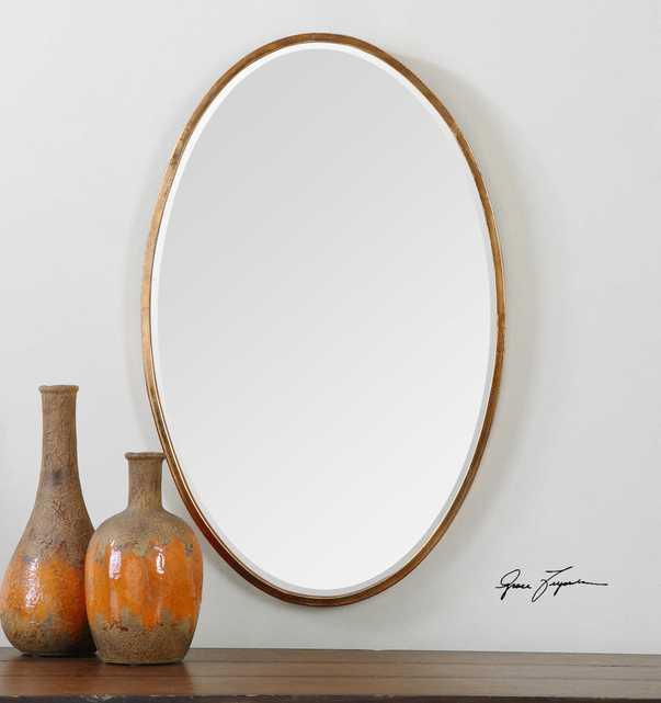 Herleva Oval Mirror - Hudsonhill Foundry