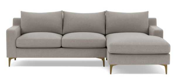 SLOAN Right Chaise Sectional - Interior Define